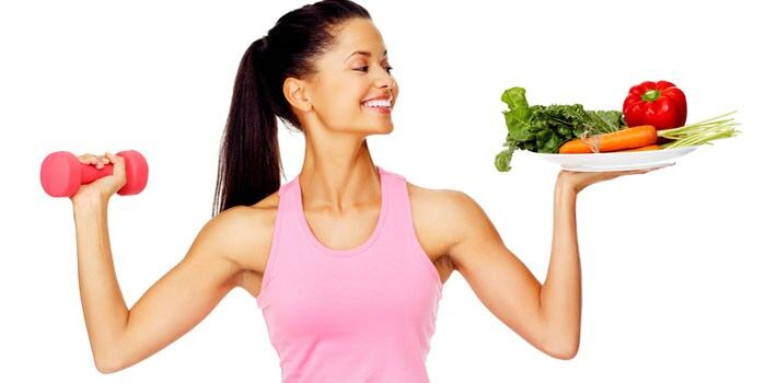 healthy food and exercise to lose weight in one month